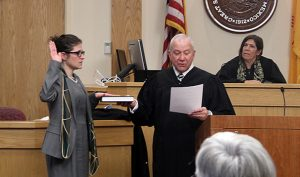 Judge Levy Sworn In