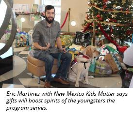 Eric Martinez with NM Kids Matter