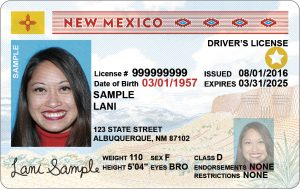 NM Adult Driver's License Real ID