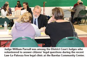 Judge Parnall at Law la Palooza